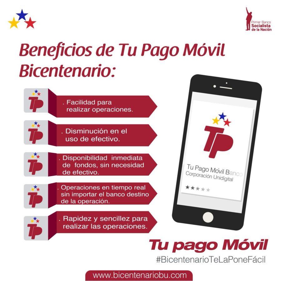afiliarse a pago móvil bicentenario
