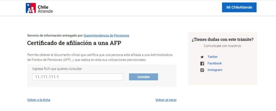 afiliación afp